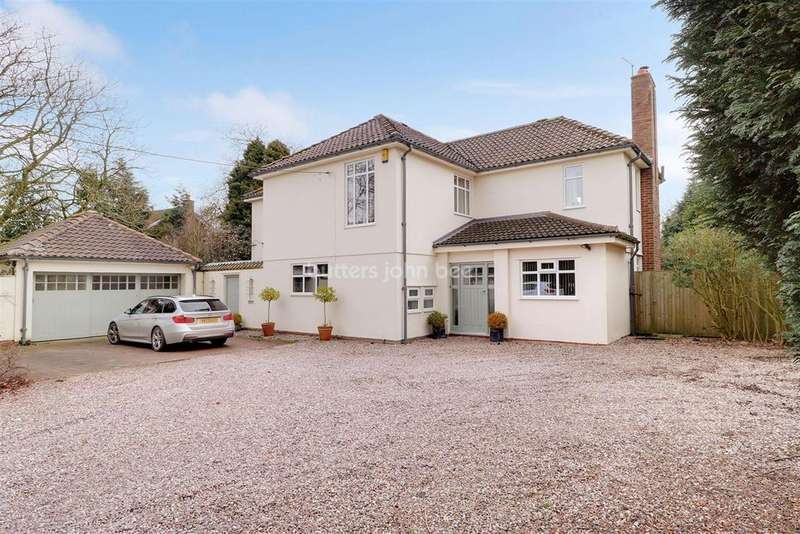4 Bedrooms Detached House for sale in Crewe Road, Alsager