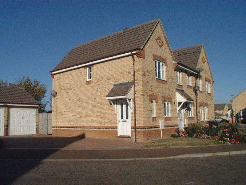 2 Bedrooms End Of Terrace House for rent in Fieldfare Drive, Stanground, PETERBOROUGH, PE2