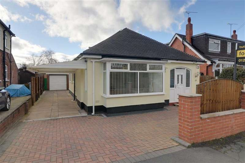 3 Bedrooms Detached Bungalow for sale in Brookland Avenue, Wistaston, Crewe