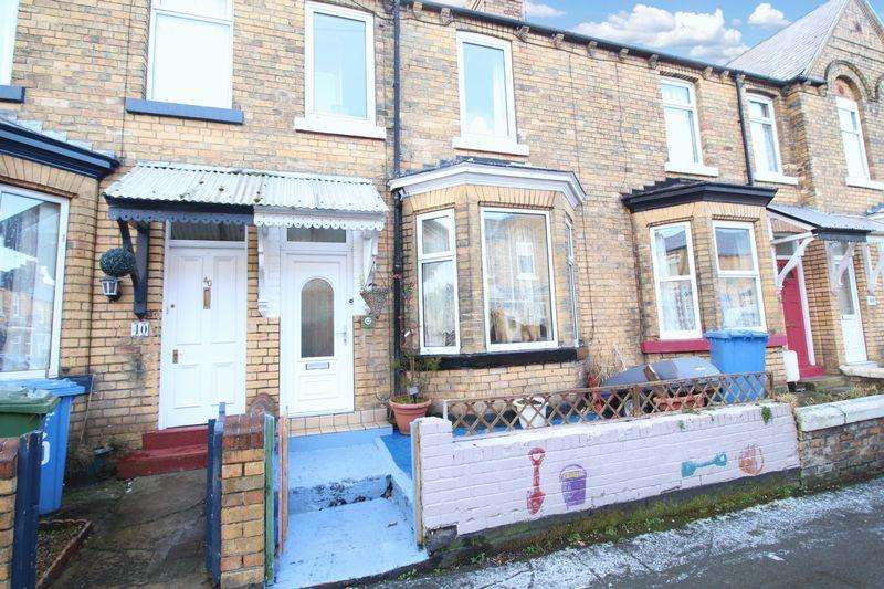 2 Bedrooms Terraced House for sale in Gordon Street, Scarborough