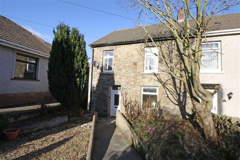 3 Bedrooms Semi Detached House for sale in Llewelyn Street, Trecynon, Aberdare, Mid Glamorgan