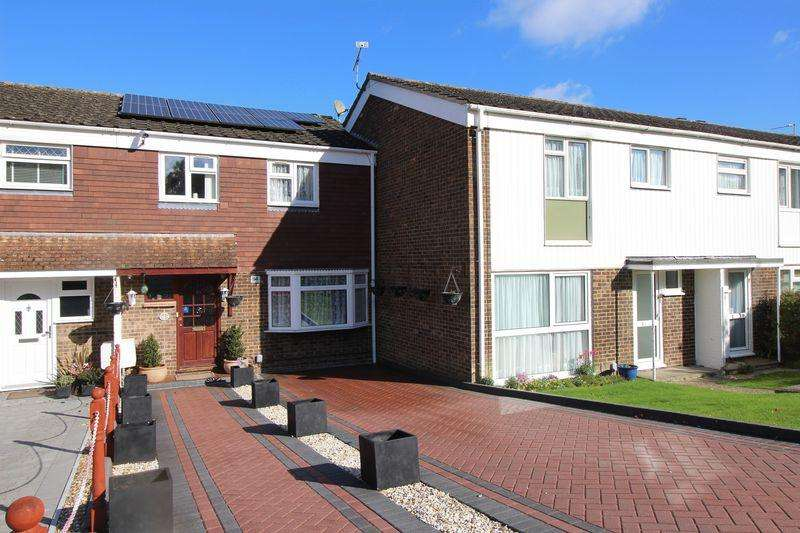 3 Bedrooms Terraced House for sale in Trefoil Crescent, Crawley