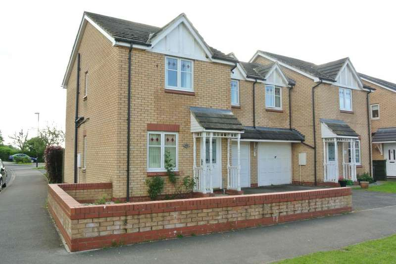 3 Bedrooms Semi Detached House for rent in Peirse Close, Bedale DL8