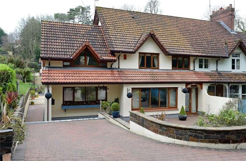 4 Bedrooms End Of Terrace House for sale in Pilgrims, The Glen, Saundersfoot, Tenby