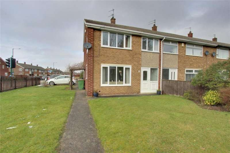 3 Bedrooms End Of Terrace House for sale in Lealholm Walk, Eston