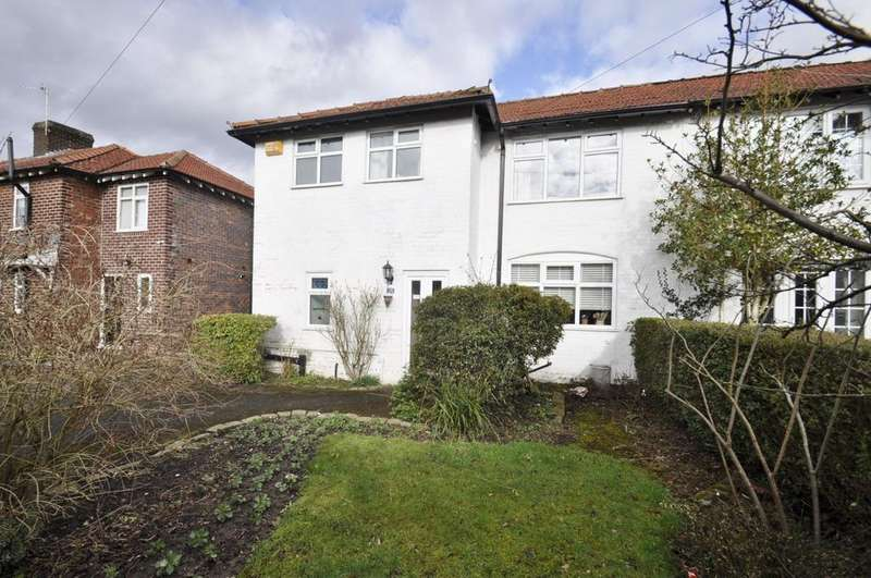3 Bedrooms Semi Detached House for sale in Vicarage Avenue, Cheadle Hulme,
