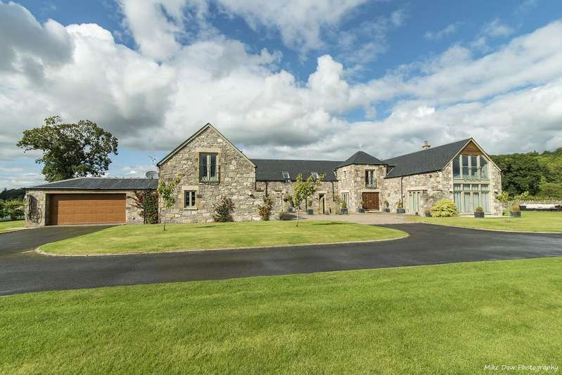 5 Bedrooms Detached House for sale in Mid Lecropt Steading, Bridge of Allan, Stirling, Scotland, FK9 4ND