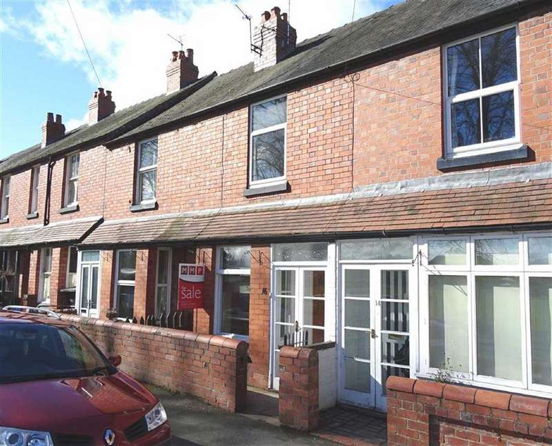 2 Bedrooms Terraced House for sale in 16, Jennings Road, Oswestry, Shropshire, SY11