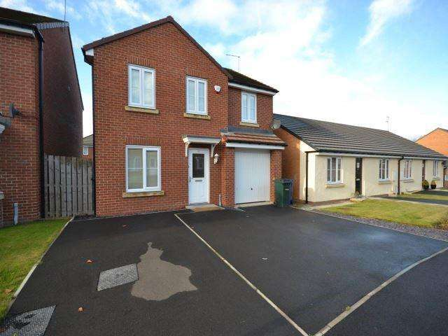 4 Bedrooms Detached House for rent in Ministry Close, High Heaton, Newcastle Upon Tyne