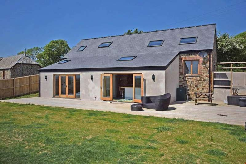 4 Bedrooms Barn Conversion Character Property for sale in Stratton, Nr. Bude, Cornwall, EX23