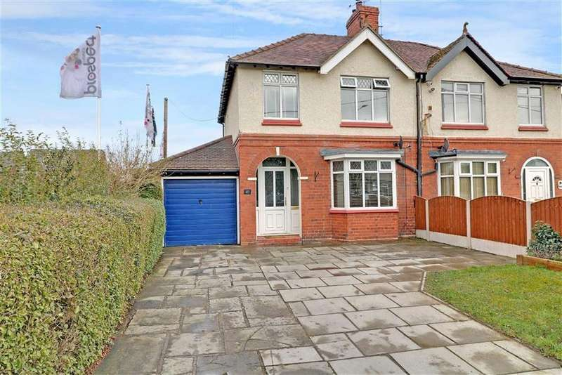 3 Bedrooms Semi Detached House for sale in Newcastle Road, Shavington, Crewe