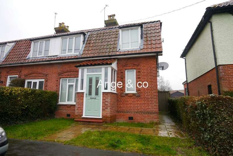 2 Bedrooms Semi Detached House for sale in South Road, Beccles