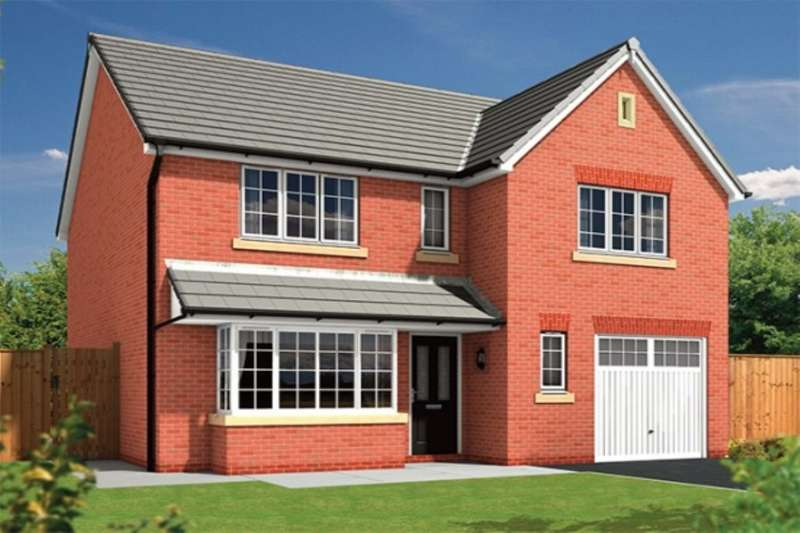 4 Bedrooms Detached House for sale in The Shakespeare Kingwood, Higher Walton, Preston, PR5