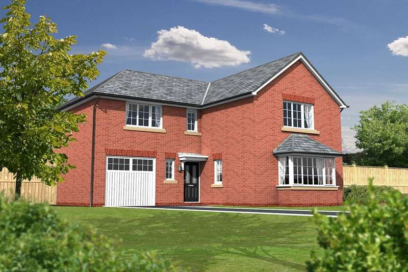 4 Bedrooms Detached House for sale in The Newton Kingswood, Higher Walton, Preston, PR5