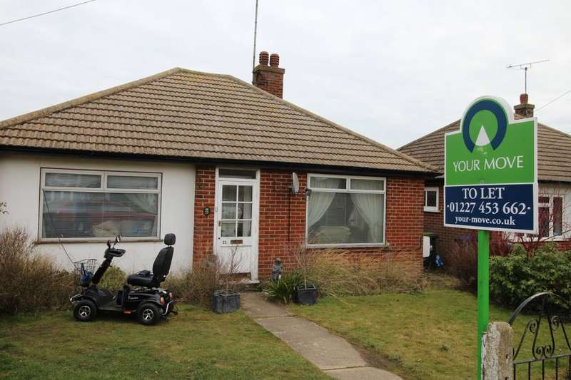2 Bedrooms Detached Bungalow for rent in Princess Road, Whitstable, CT5