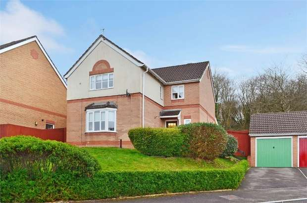 4 Bedrooms Detached House for sale in St Cenydd Close, Pontllanfraith, Blackwood, Caerphilly