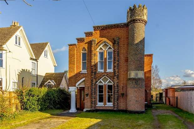 4 Bedrooms Detached House for sale in Bredfield Road, Woodbridge, Suffolk