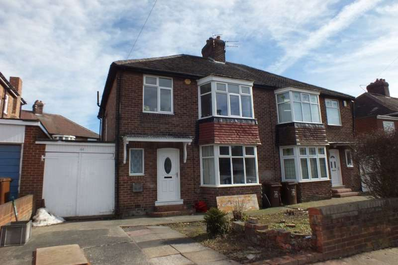 3 Bedrooms Semi Detached House for sale in Woodburn Avenue, Newcastle Upon Tyne, NE4