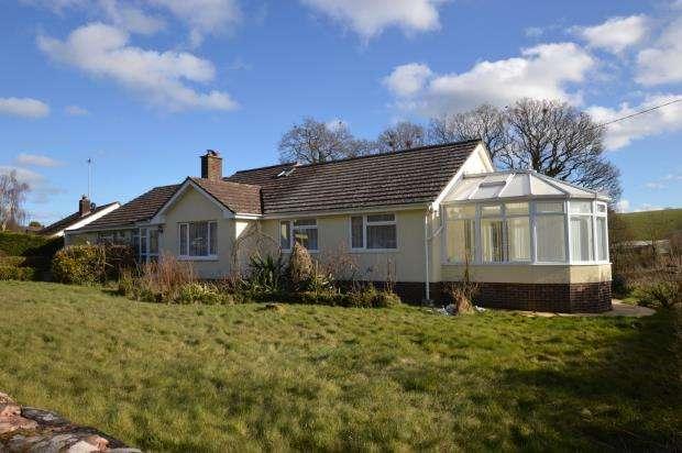 4 Bedrooms Detached Bungalow for sale in Cheriton Fitzpaine, Crediton, Devon