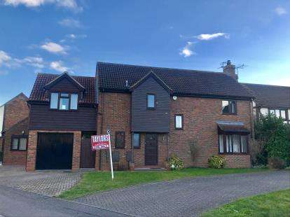 5 Bedrooms Detached House for sale in Caernarvon Road, Eynesbury, St. Neots, Cambridgeshire