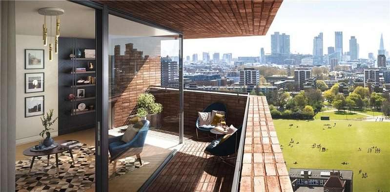 3 Bedrooms Flat for sale in Anthology Hoxton Press, Penn Street, London, N1
