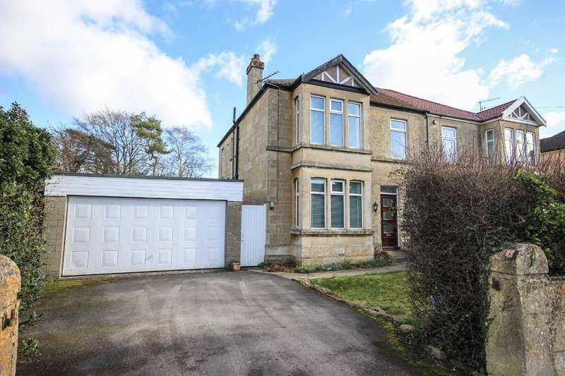 4 Bedrooms Semi Detached House for sale in Foxhill, Combe Down, Bath