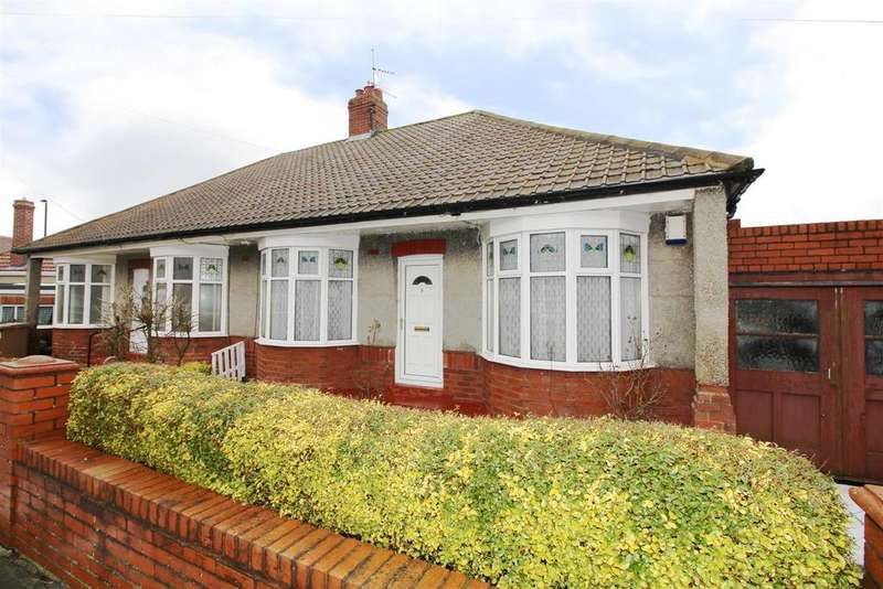 2 Bedrooms Semi Detached Bungalow for sale in Sheringham Avenue, North Shields