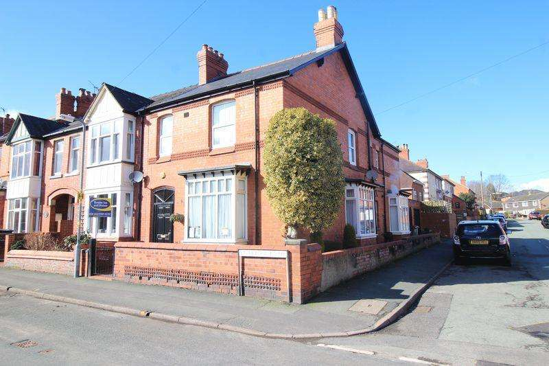 4 Bedrooms End Of Terrace House for sale in Liverpool Road, Oswestry