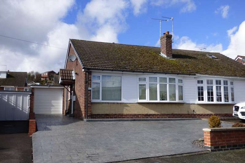 2 Bedrooms Semi Detached Bungalow for sale in Lewis Drive, Burton-on-Trent