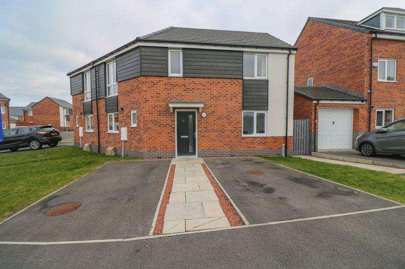 3 Bedrooms Semi Detached House for sale in Terry Cooney Place, Newcastle Upon Tyne