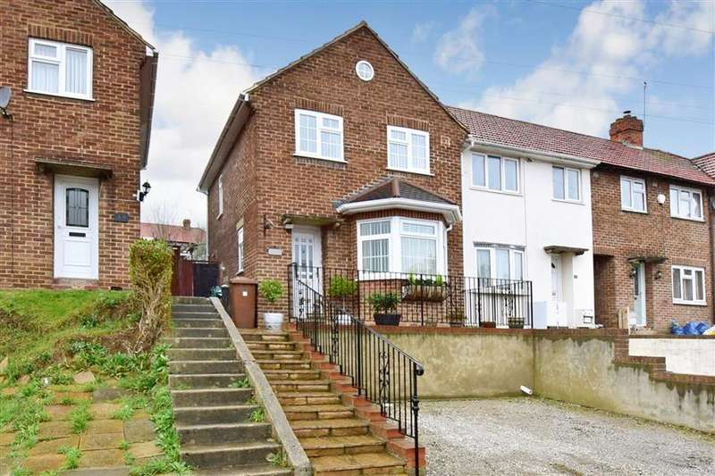 3 Bedrooms End Of Terrace House for sale in Elaine Avenue, Strood, Rochester, Kent