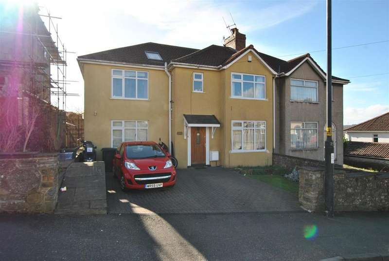 5 Bedrooms Semi Detached House for sale in Redcatch Road, Knowle, Bristol