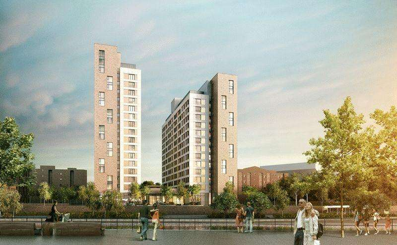 1 Bedroom Off-Plan Commercial for sale in One Trafford Wharf, Manchester
