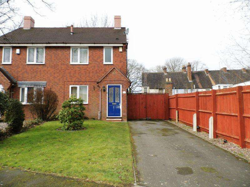 2 Bedrooms Semi Detached House for sale in Millennium Close, Pelsall, Walsall