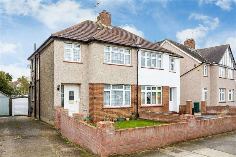 3 Bedrooms Semi Detached House for sale in Woodlands Ave, Eastcote, Middlesex