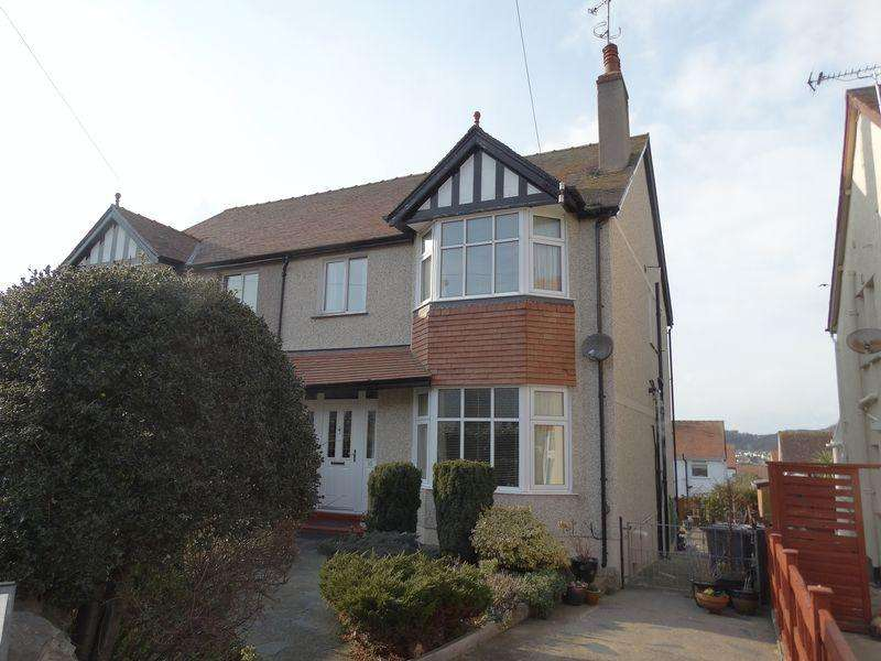 4 Bedrooms Semi Detached House for sale in Dinerth Park, Colwyn Bay