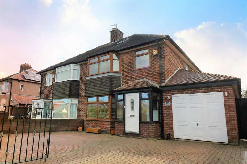 3 Bedrooms Semi Detached House for sale in Leasowe Road, Wirral, CH46 3RA