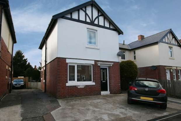 3 Bedrooms Semi Detached House for sale in Second Avenue, Morpeth, Northumberland, NE61 2ET