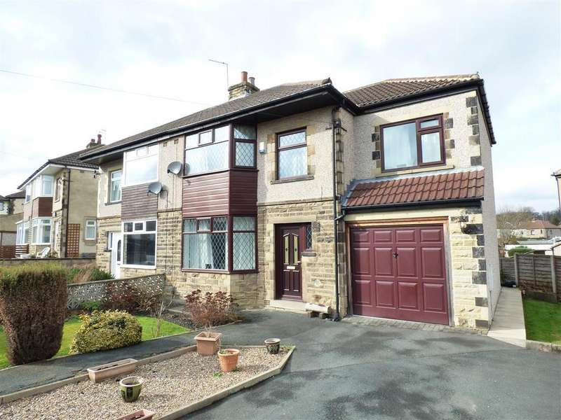 4 Bedrooms Semi Detached House for sale in Leafield Way, Bradford