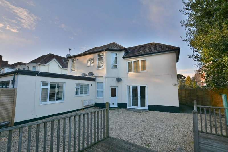 2 Bedrooms Ground Flat for sale in Rushton Crescent, Bournemouth