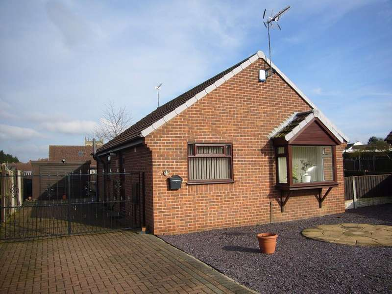 2 Bedrooms Detached Bungalow for sale in Yarburgh Close, Snaith