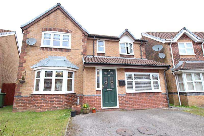 4 Bedrooms Detached House for sale in Heol Tyddyn, Caerphilly