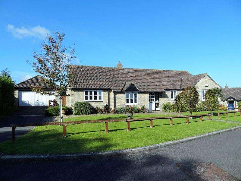 4 Bedrooms Detached Bungalow for sale in Loxley Batch, Shapwick