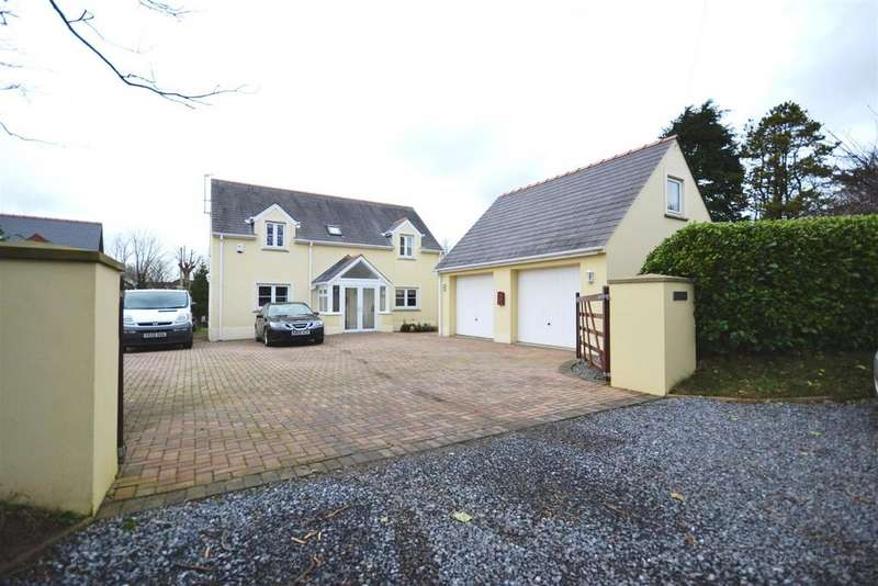 4 Bedrooms Detached House for sale in Steynton, Milford Haven, Pembrokeshire