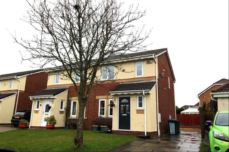 3 Bedrooms Semi Detached House for rent in Crowell Way, Walton-Le-Dale, Preston, PR5