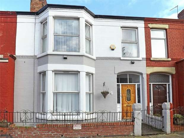 4 Bedrooms Terraced House for sale in Derby Lane, Liverpool, Merseyside