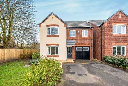 4 Bedrooms Detached House for sale in Green Close, Great Haywood, Stafford, Staffordshire