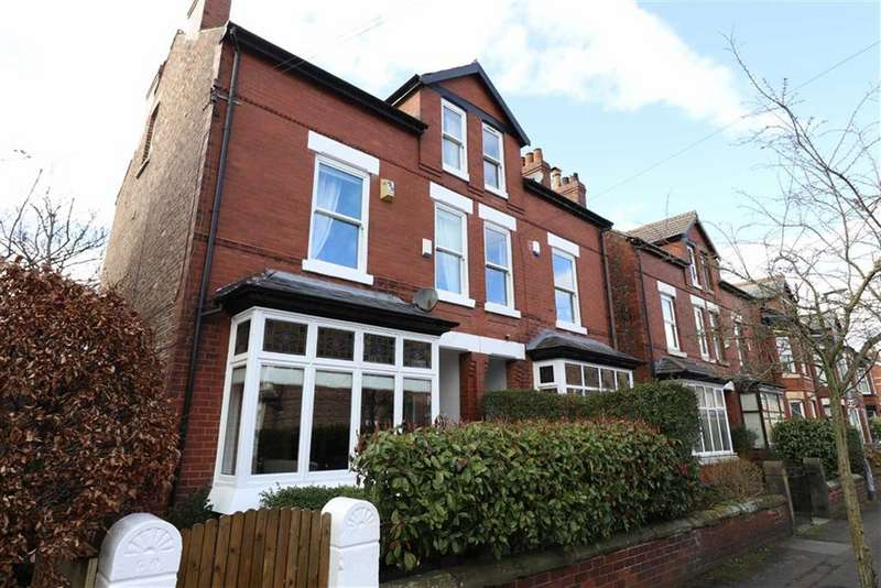 4 Bedrooms Semi Detached House for sale in Brundretts Road, Chorlton, Manchester, M21