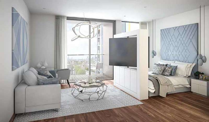1 Bedroom Flat for sale in Maine Tower, Canary Wharf, E14