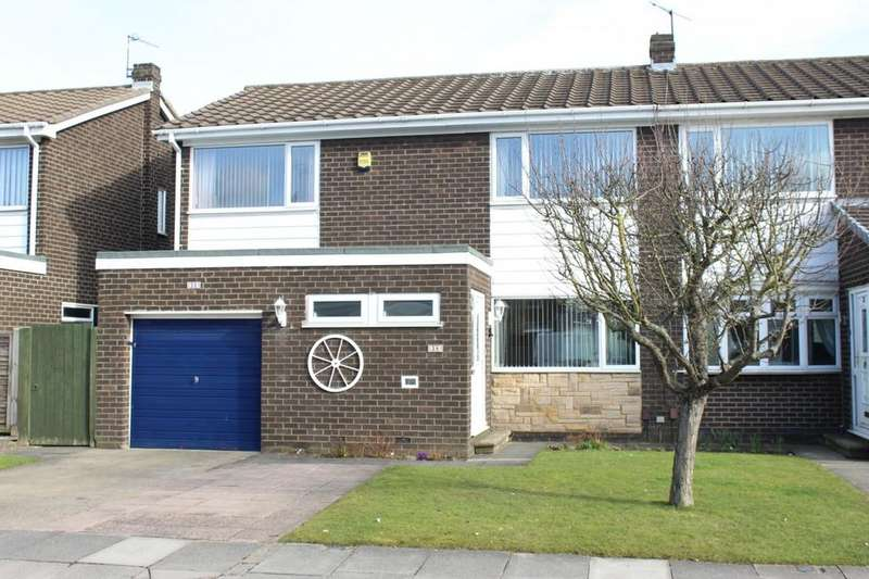 4 Bedrooms Semi Detached House for sale in Weaverham Road, The Glebe, Norton, TS20